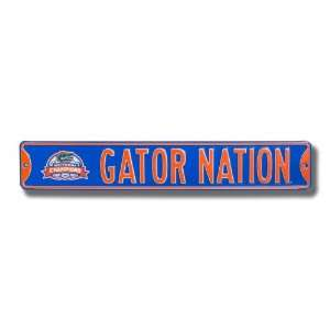 FLORIDA GATORS GATOR NATION w/2006 Champions logo