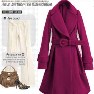 10% OFFWomens Winter Long Sleeve Coat Belted Fashion Style Newest Hot