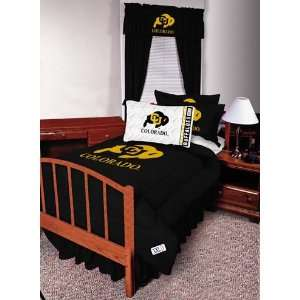 NCAA Colorado Buffaloes Complete Bedding Set Twin Size