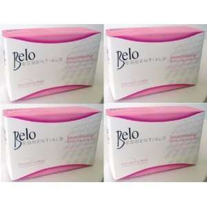 4 Bars of Belo Essentials Whitening Soap Glutathione Kojic