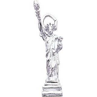 Sterling Silver New York Big Apple Skyline Charm Jewelry