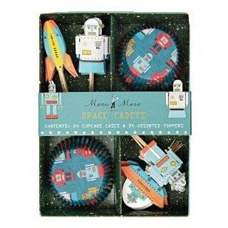Dolce Mia Kids Space Birthday Thank You Card Party Pack