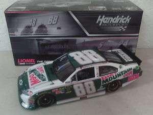 2011 Dale Earnhardt Jr 88 MOUNTAIN DEW LIGHT RETRO 1/24 Action NASCAR