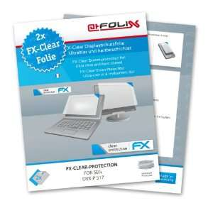 atFoliX FX Clear Invisible screen protector for SEG DVX P 517 / DVX