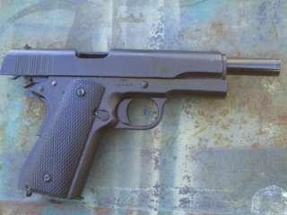 Replica Black 1911 Metal 45 Colt Pistol Gun Prop New Auto WWII NON