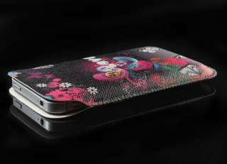Fashion Beautiful Soft Case Cover Skin Bag for Apple iPhone 4 4G 4S 3G