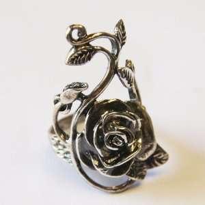 Thaimart Thaimart Beautiful Rose Flower Ring 925 Sterling