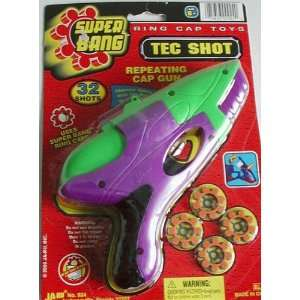 Ja Ru #924 Tec Shot Repeating Cap Gun Toys & Games