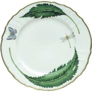 Anna Weatherley Green Leaf Dinner Plate 10.5 In