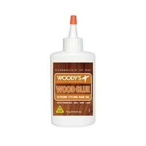 Woodys Wood Glue Extreme Hair Styling Glue For Men  4oz