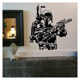 Boba Fett Star Wars Large Vinyl Wall Decal Sticker