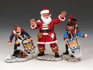 King & Country 2011 Christmas Set The Napoleonic Snow Battle XM011