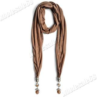 Coffe fashion jewelry Scarve wholesale lot long pashmina Scarf Shawl