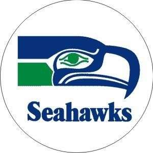 Vintage NFL Seahawks football logo sticker decal
