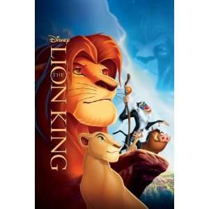 Walt Disneys THE LION KING Movie Poster Print   11 x 17