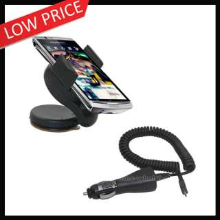 Car Holder Charger for Sony Ericsson XPERIA Arc X12 NEW