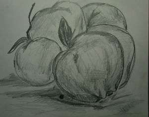 Drawing Pencil Modern house abstract onion US 10004 new york ny