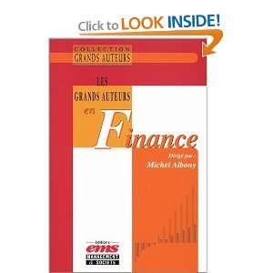 Les Grands Auteurs en finance (9782912647801): Michel