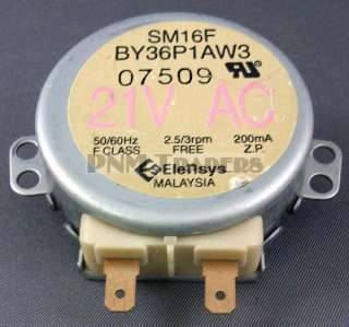 21 VAC Microwave Synchronous Motor SM16F BY36P1AW3
