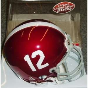 Alabama Crimson Tide Riddell Chrome Mini Helmet  Sports