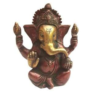 God Ganesh Ji Brass Statues Figurine Beautiful Antique Look Blessing