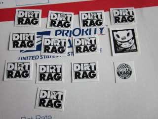 DIRT RAG MAG MAGAZINE Bike Bicycle Ride STICKER DECAL