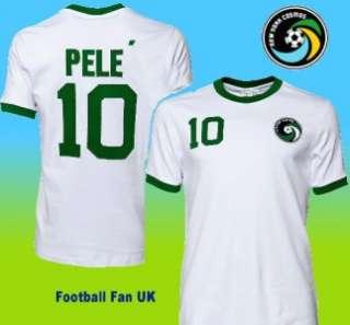 NEW YORK COSMOS Umbro 1976 Pele Retro Shirt NEW. S,M,L,XL. NASL Soccer