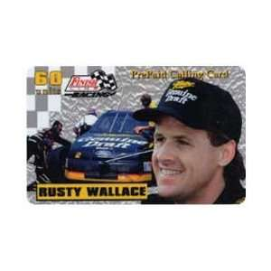 Card 60u Platinum Series Rusty Wallace (Miller   Genuine Draft