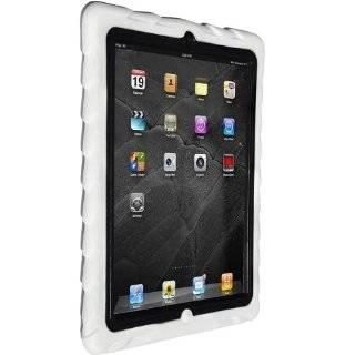 Gumdrop Cases Drop Tech Series Case for Apple iPad 2, White Black, (DS