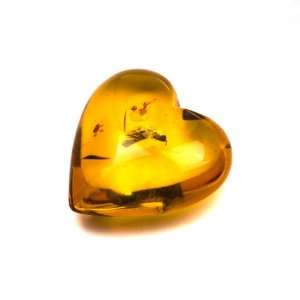 Baltic Light Honey Amber Lover Heart Valentines Day Collection Gift