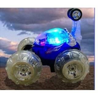 Remote Control RC Aerobatic Turbo Twister Stunt Car Truck (Blue Color