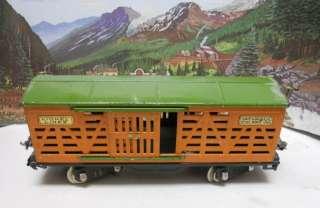 Pre War LIONEL Standard Gauge #503 ORIGINAL PAINT Cattle Car