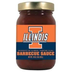 Illinois Fighting Illini Barbecue Sauce (16oz)  Kitchen