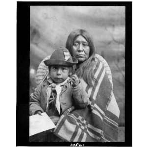 Eggelston squaw and papoose /Ute Indians  1902