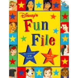 Disneys Fun File (Disney) (9780590131841) Books