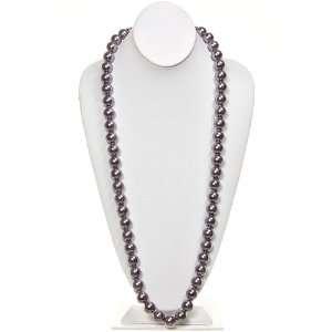 Fashion Jewelry ~ Light Purple Glass Pearl Necklace 54