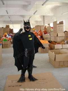 Batman Mascot Costume Fancy Dress Outfit Suit