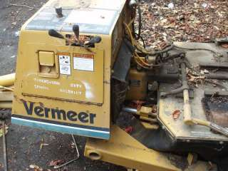 Vermeer Stump Grinder 630B for Parts or Repair