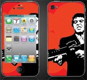 Iphone 4 4g Skin Sticker Cover Scarface