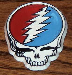 Grateful Dead Steal Your Face 3D Rubber Magnet Jerry Garcia Greatful