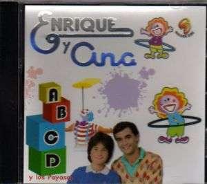 ENRIQUE Y ANA y los Pay CD Musica para Niños Kids