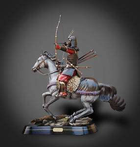 INCREDIBLE BRONZE SAMURAI WARRIOR SCULPTURE BARRY STEIN