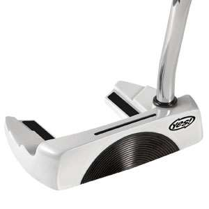 YES Golf C Groove 2012 White Putters RH Sandy 35
