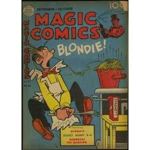 Magic Comics (September 1949) featuring Blondie & Dagwood