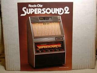 ola 490 1 and 490 2 Super Sound 2 titled Rock ola Super Sound 2