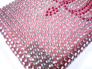 CRYSTAL DIAMOND BLING CASE COVER APPLE iTOUCH 1 PINK