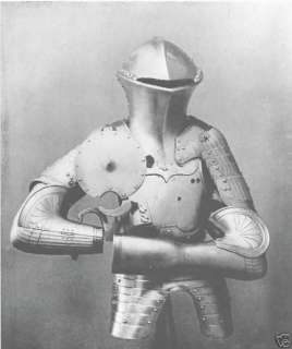 Medieval Armour KNIGHT costume sheet metal Chain Mail