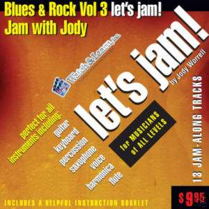 LETS JAM Play Along CD Tracks Band BLUES & ROCK VOL 3