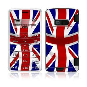 UK Flag Decorative Skin Cover Decal Sticker for LG enV2 VX9100 Cell