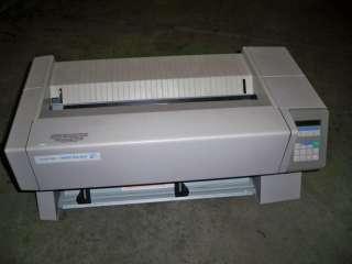 GENICOM Omni 800 Model TI8920 Standard Dot Matrix Printer 2557812 0014